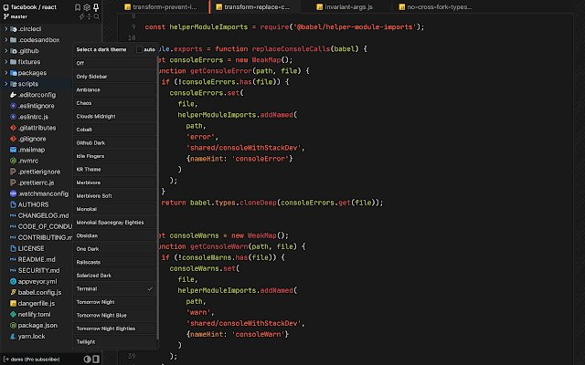 Octotree 树状图 Github_7.0.6_3