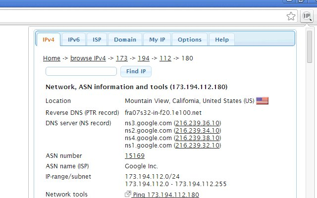 IP Address and Domain Information_4.0.6.0_0